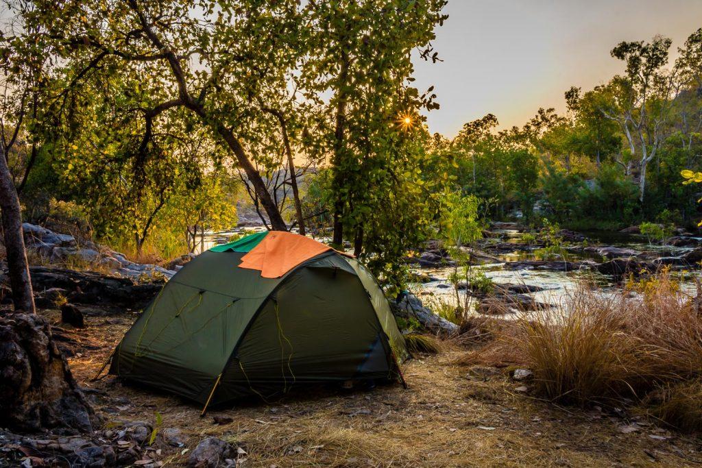 Jatbula trail camping Australia
