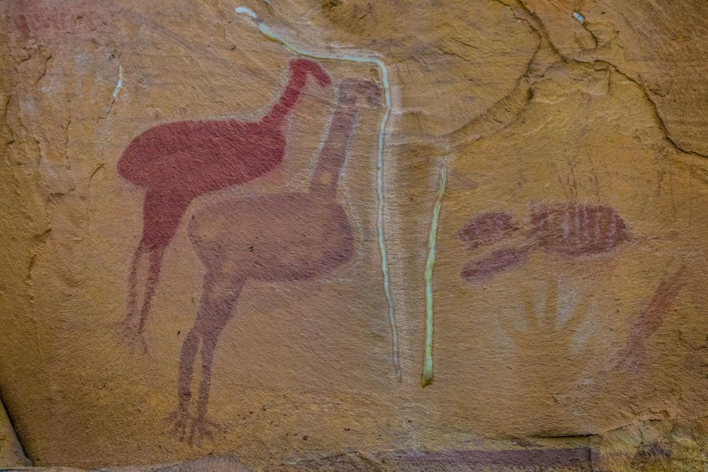 Rock Art at the Amphitheater during the Jatbula Trail