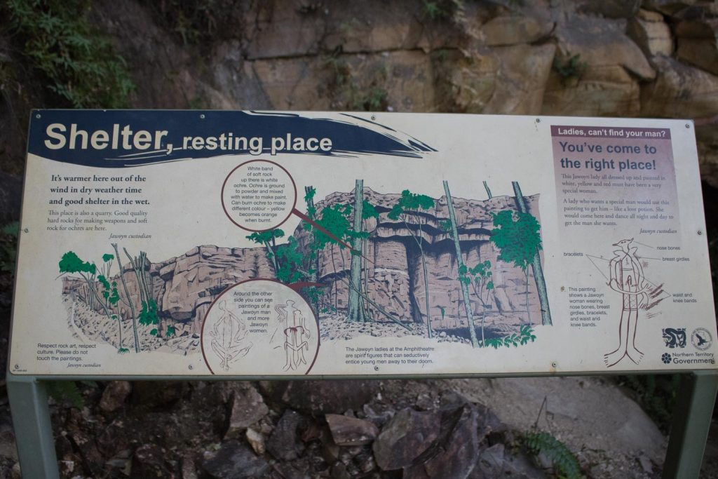 Explanation of the Rock Art at the Jatbula Trail