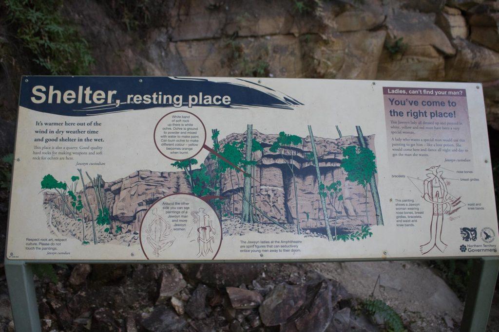 Explanation of the Rock Art at the Jatbula Trail