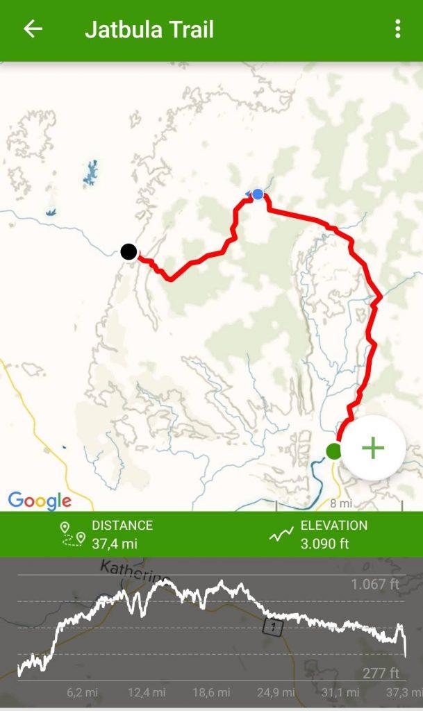 All Trail app Jatbula app