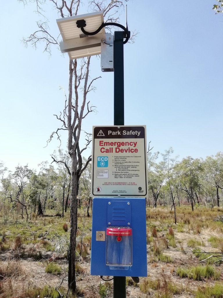 Emergency Phone on the Jatbula Trail