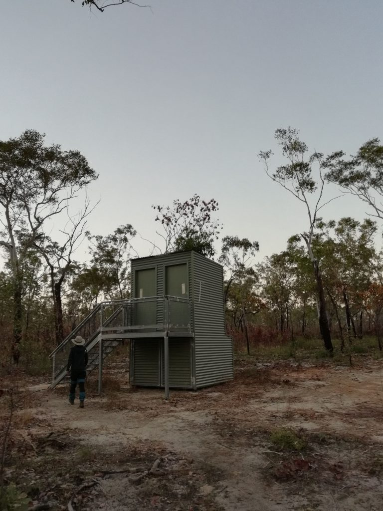 Compost Toilet at the Jatbula Trail