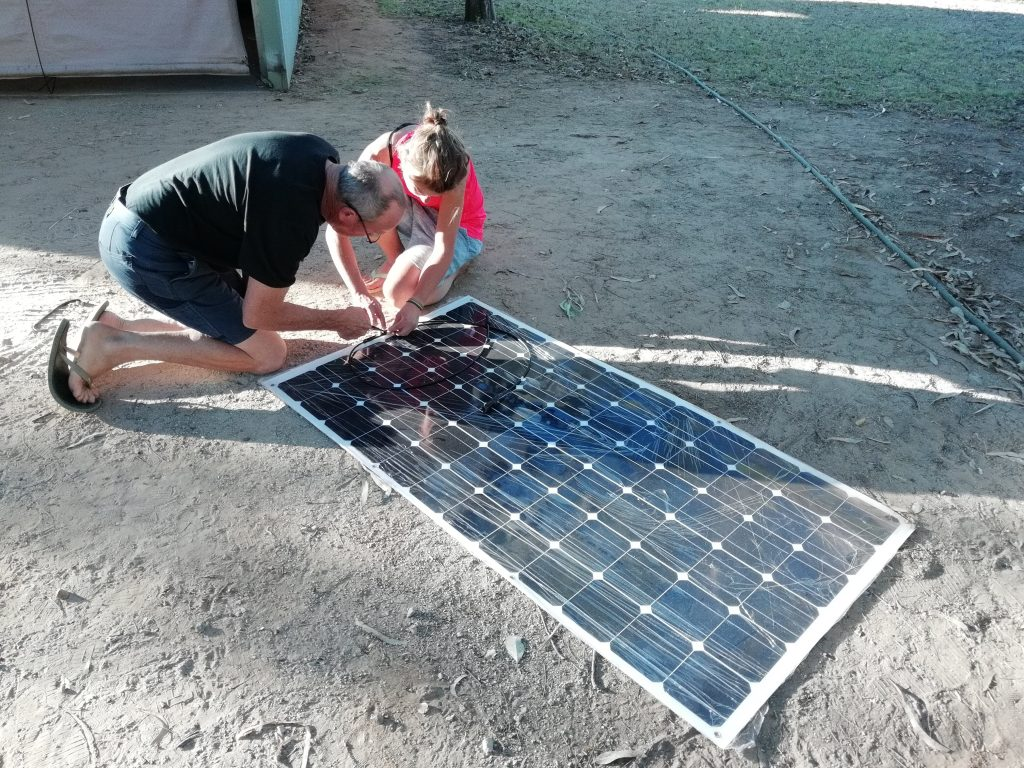 Solar Panel for on the Van