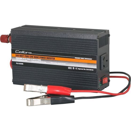 Pure Sine Inverter 600W with battery clamps for off-grid solar system