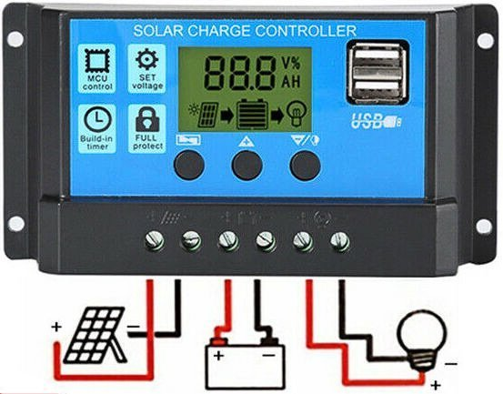 Solar-energy-system-necessities-Solar-Charge-Controller