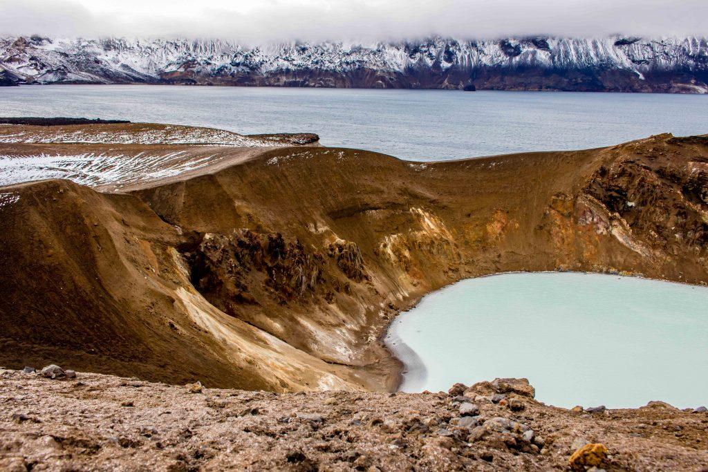 Askja area Viti Crater Lake