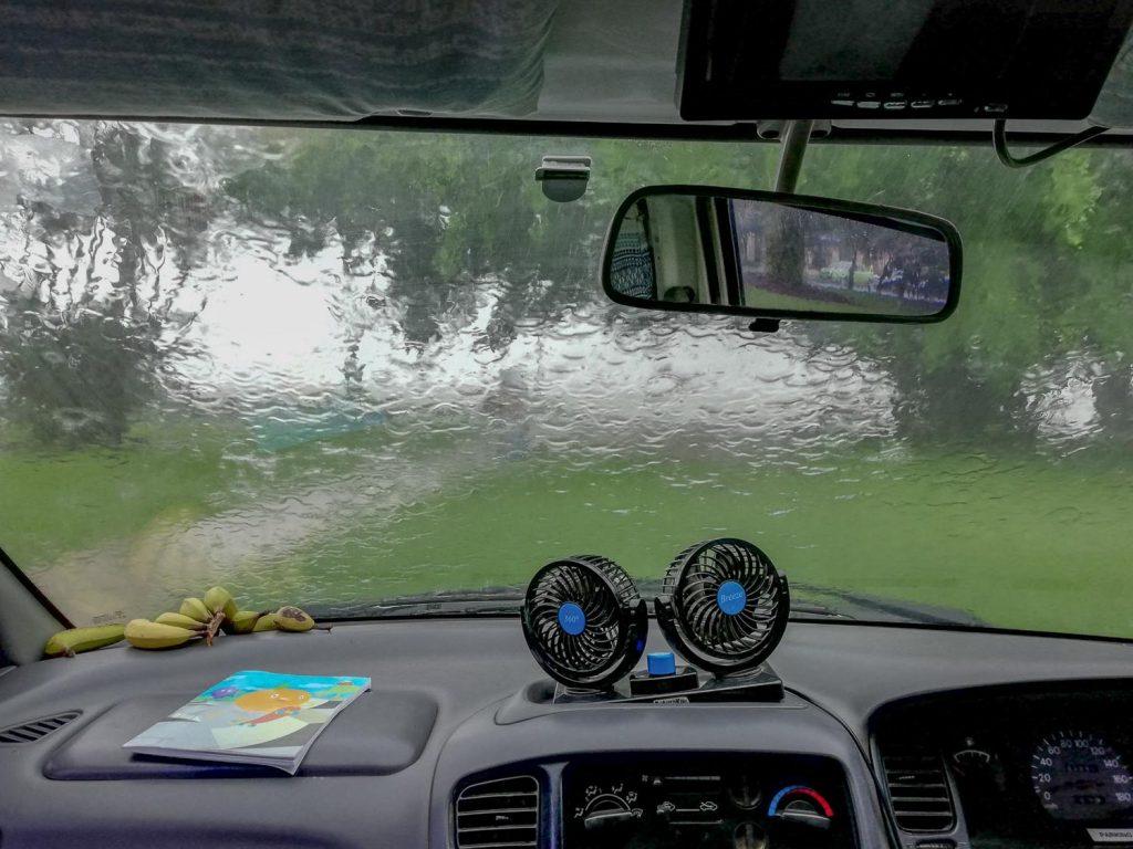 Best travel time Australia - wet season