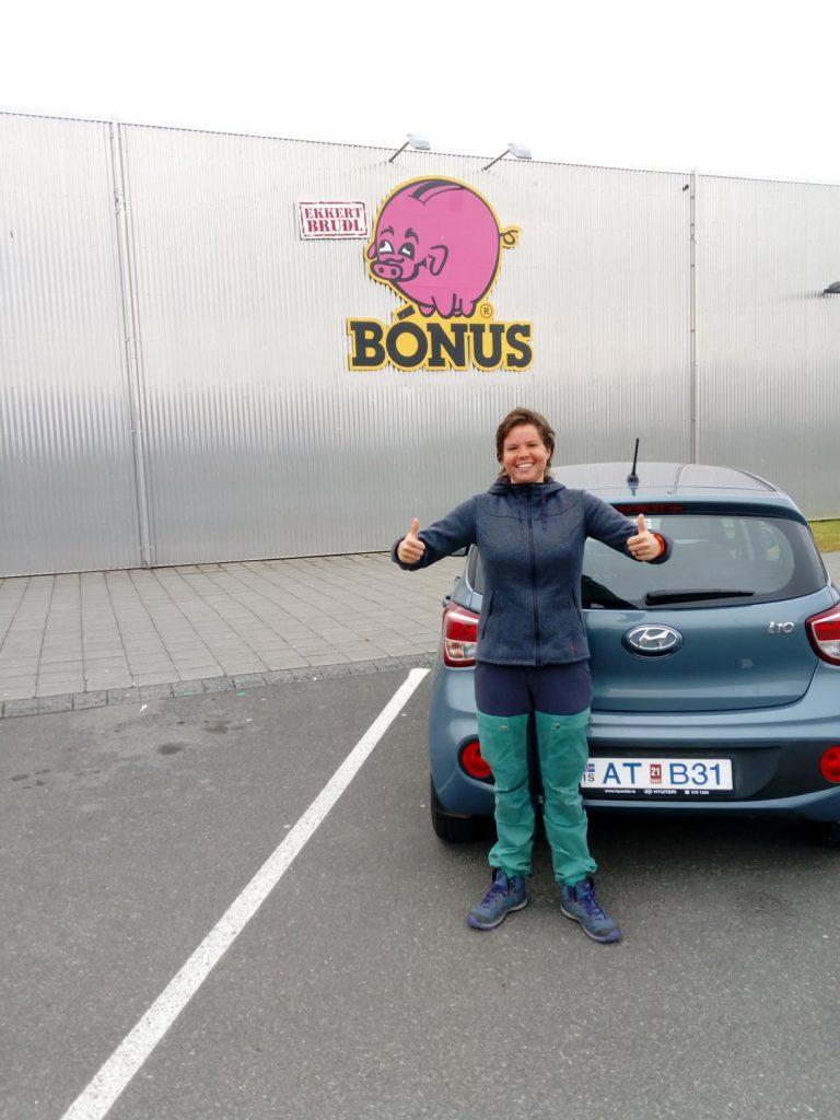 Bonus Iceland Budget