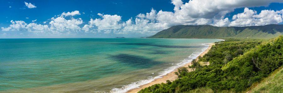 uitzicht over Cape Tribulation