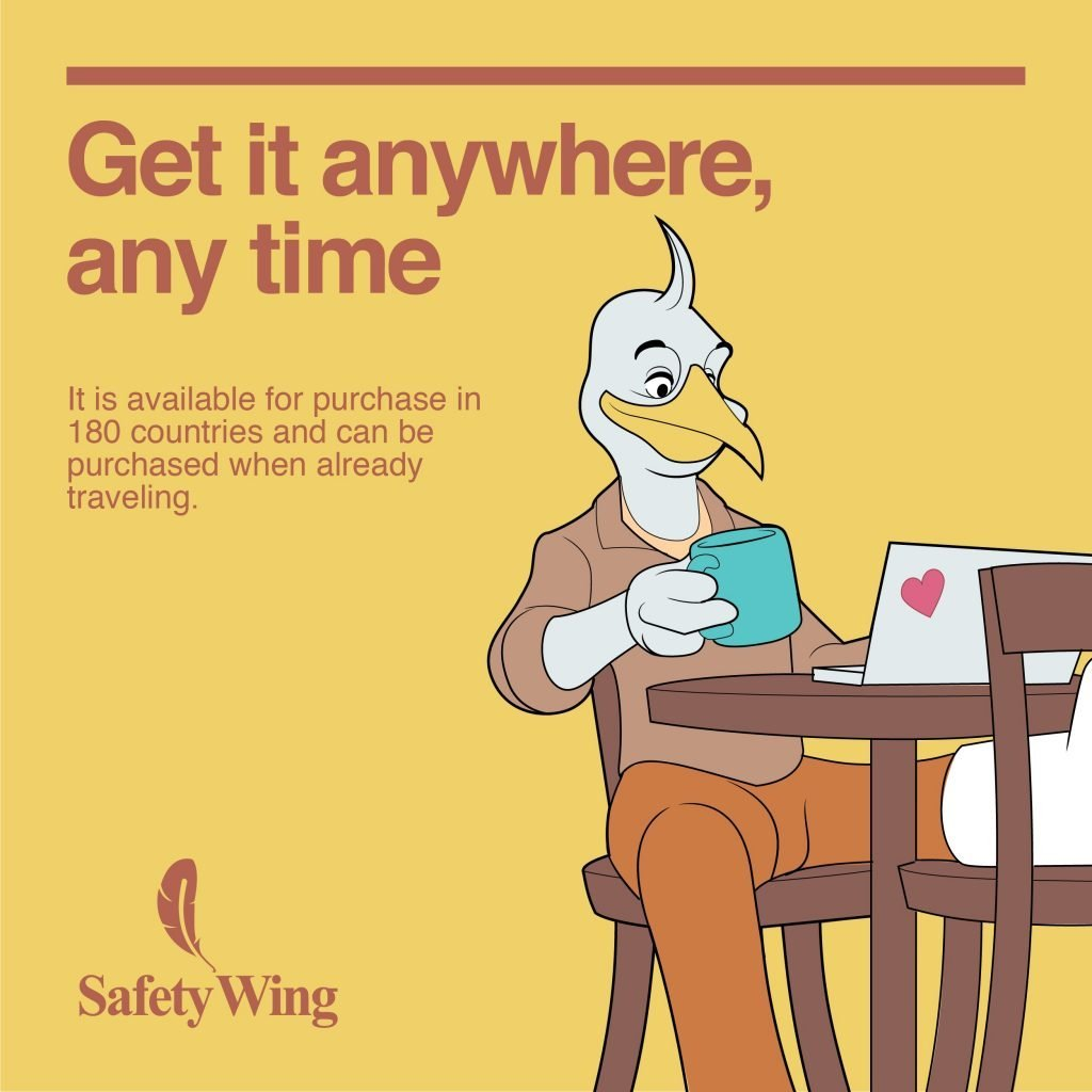 Safety Wing travel medical insurance