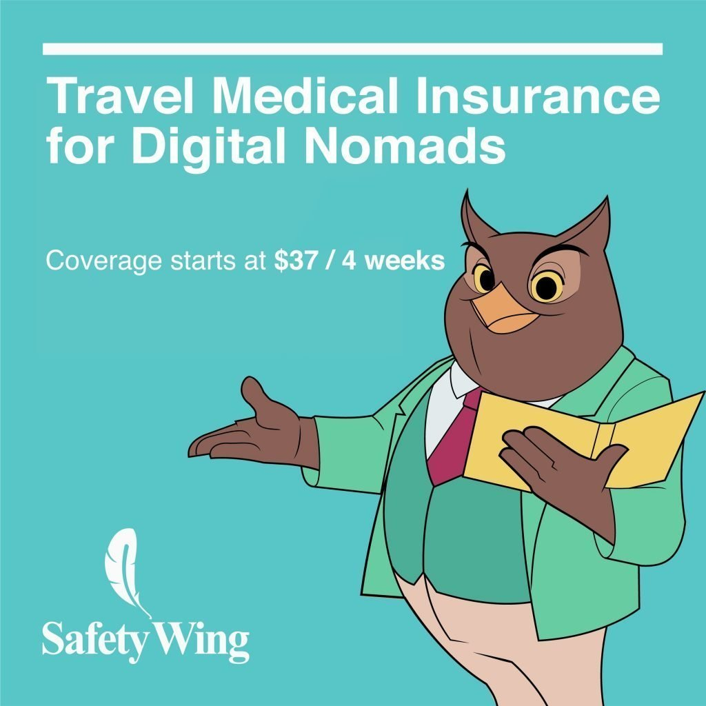 Safety Wing travel health insurance