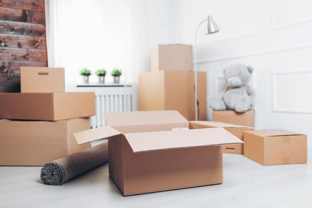 Move out of your house or apartment for your big trip