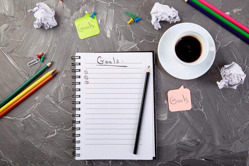 set goals to start preparing your trip around the world