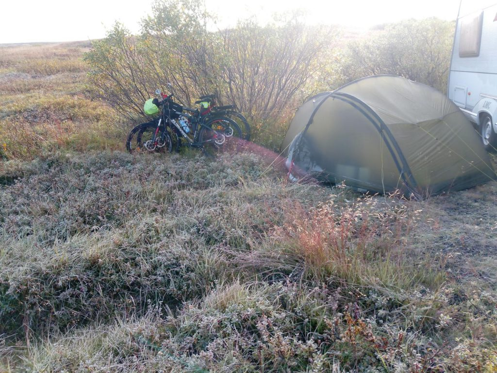 freezing cold weather camping