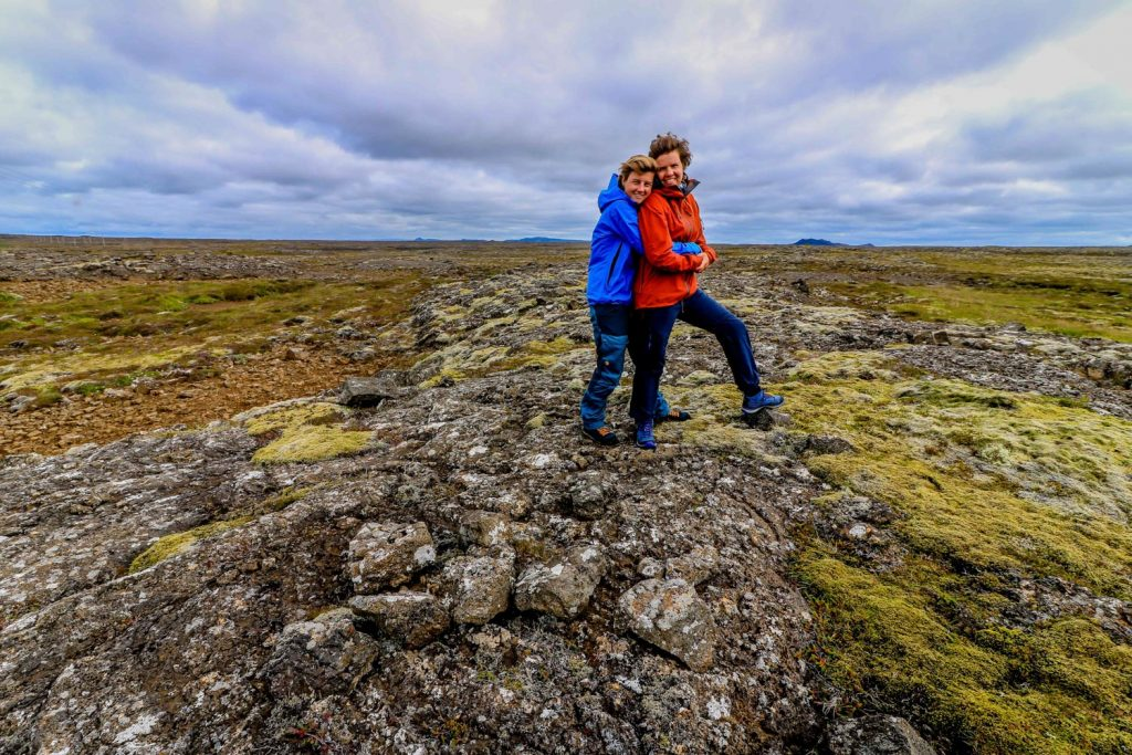 Iceland Packing List couple