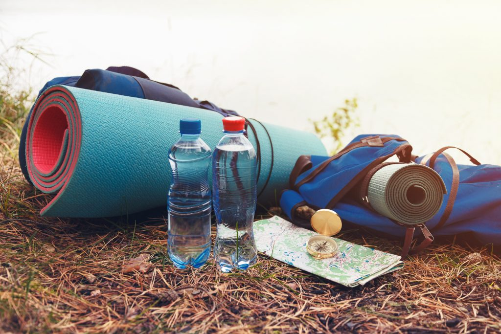 Stay hydrated during a backpacking trip