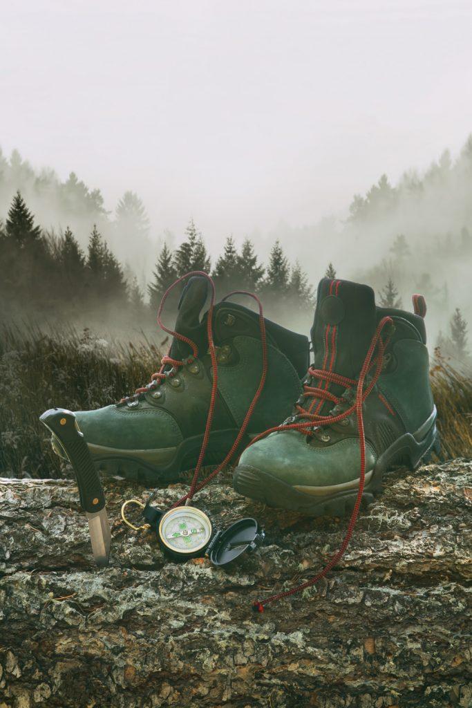 Wear proper hiking boots