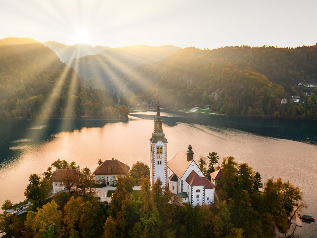 Best places for valentines day 2020: Bled Lake