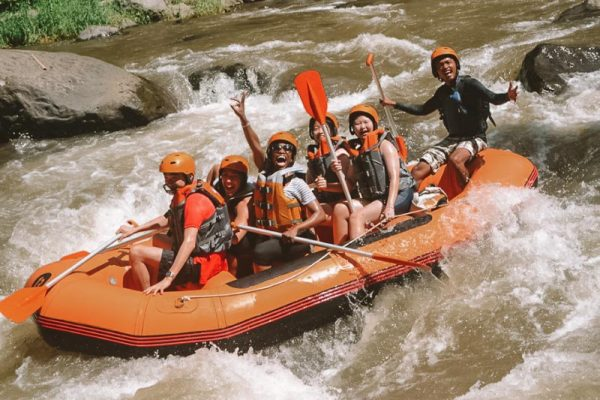Wild water rafting Bali Adventure