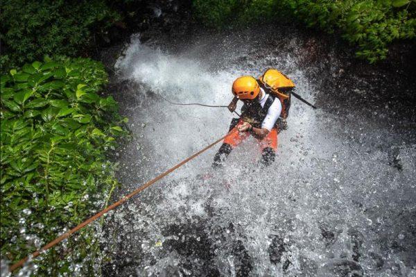 Canyoning Bali adventure