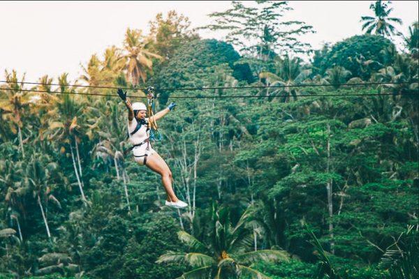 Bali Zipline adventure
