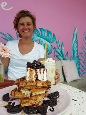 Pancakes in Bali