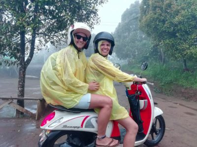 Bali Packinglist - Scooter ride