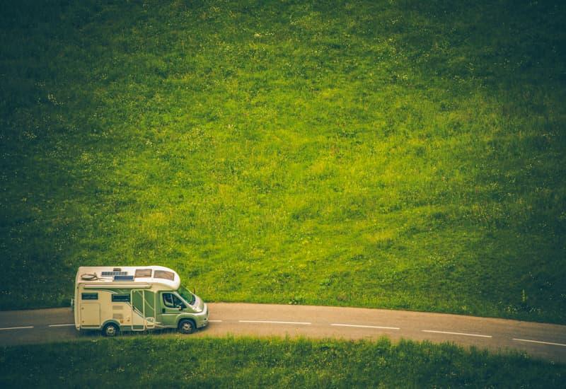 Driving a motorhome / camper van