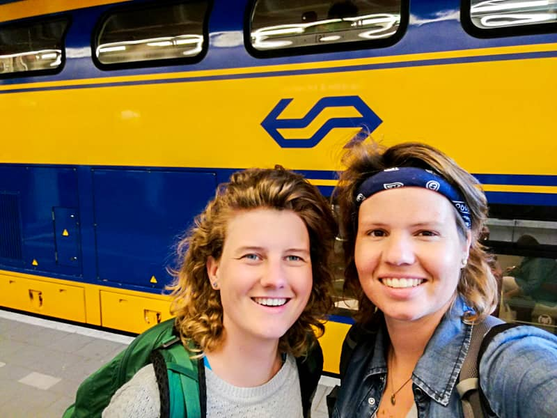 Traveling by Train with NS in the Netherlands