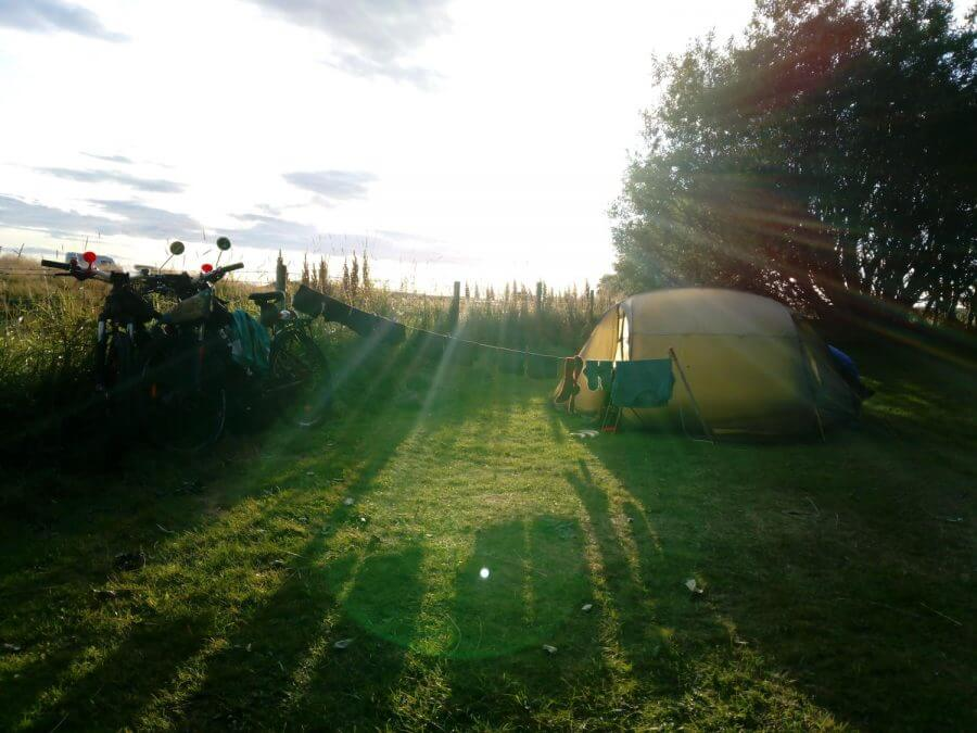 Camping Iceland Laundry