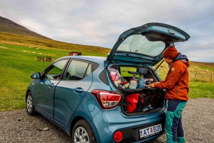 Car Camping Iceland