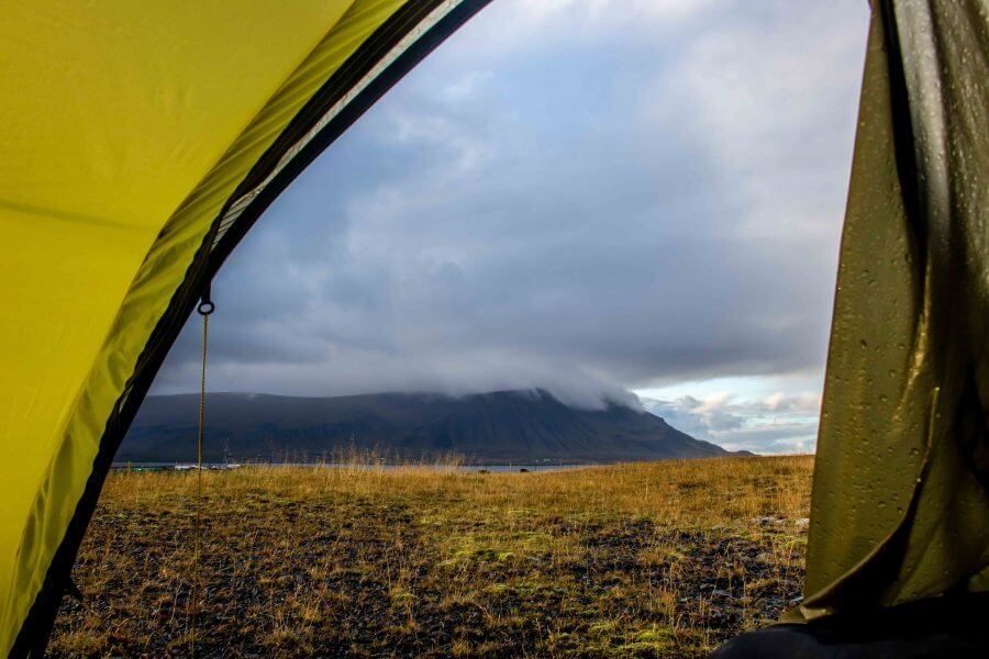 Camping Iceland all weather