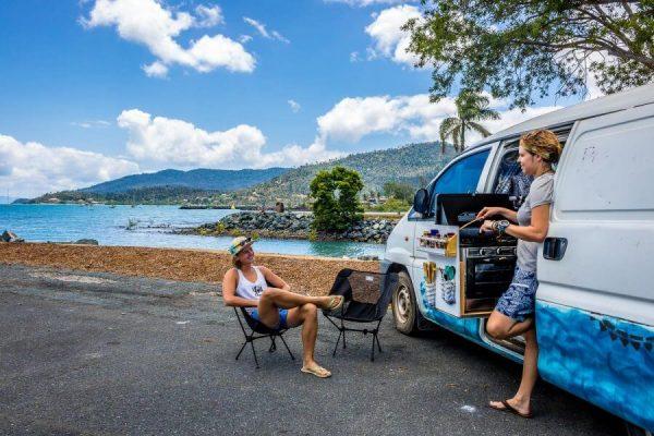 Australie travel budget free camp