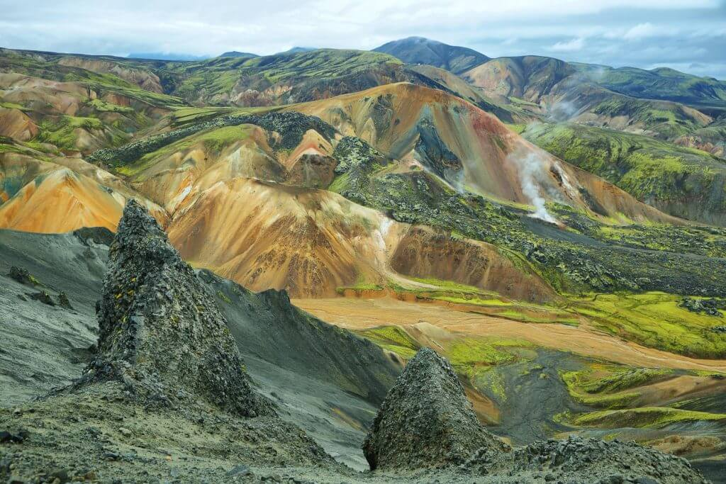 Landscapes Iceland all your around
