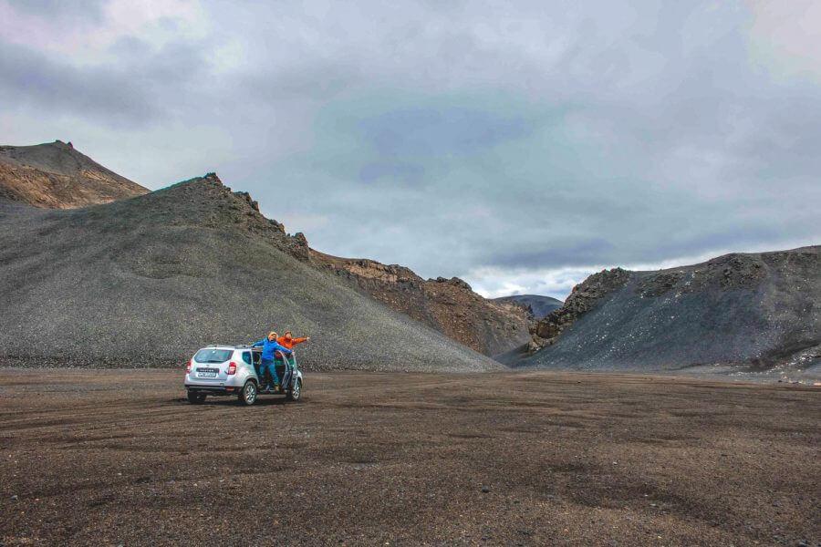 Car Camping Iceland touring