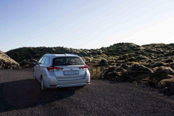 Car rental Iceland Moss Landscape