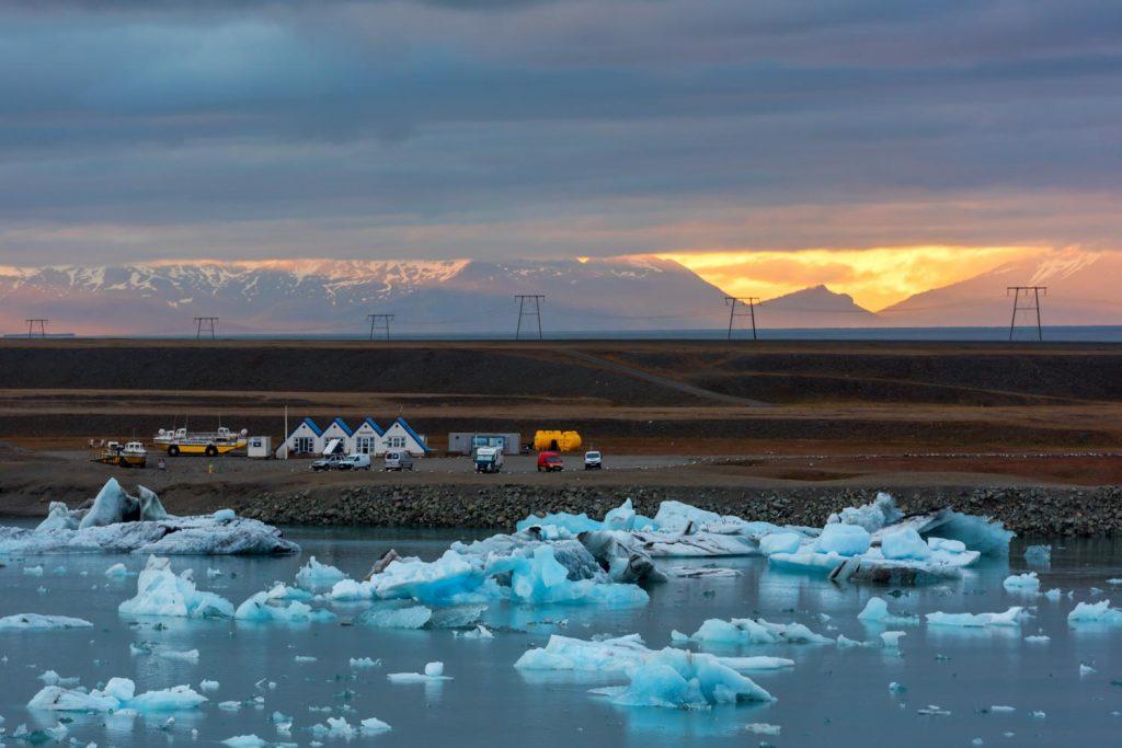 Diamond beach Iceland Jokulsarlon
