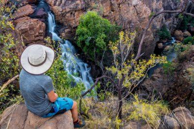 Jatbula trail waterfall Australia