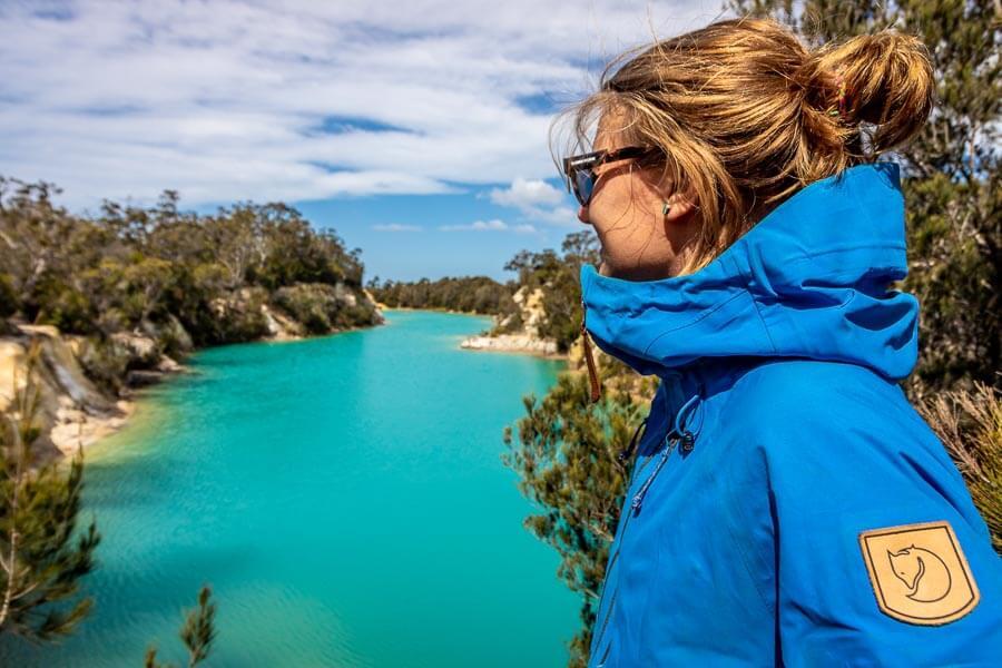 Tasmania Self Drive Blue Lake Fjallraven Ecoshell