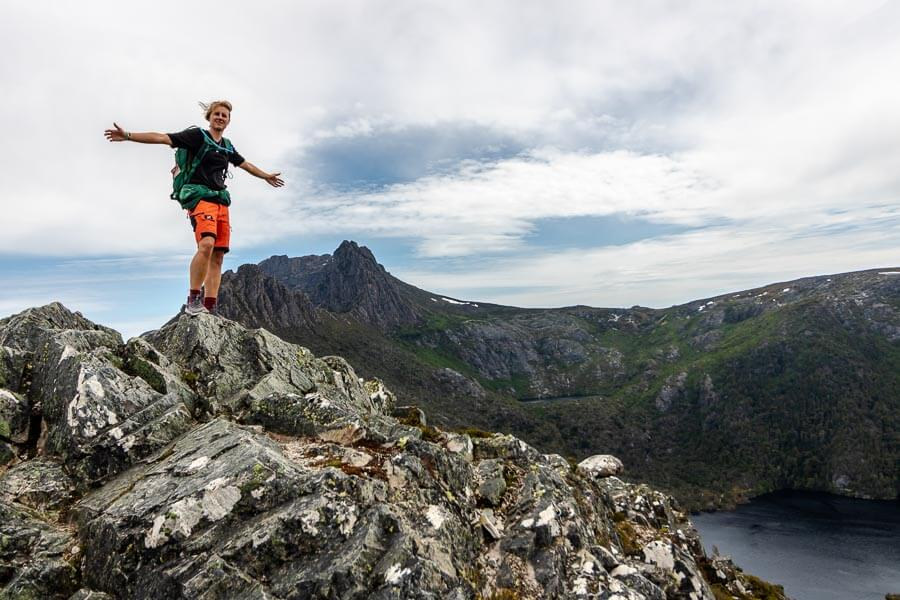 Tasmania Travel Guide Cradle Mountain Nanet