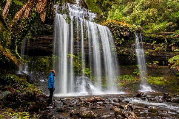 Tasmania Travel Guide Waterfall Nanet