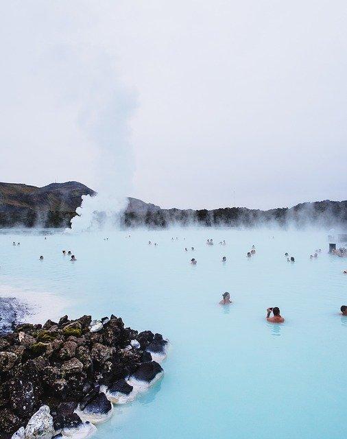 Blue Lagoon Iceland people
