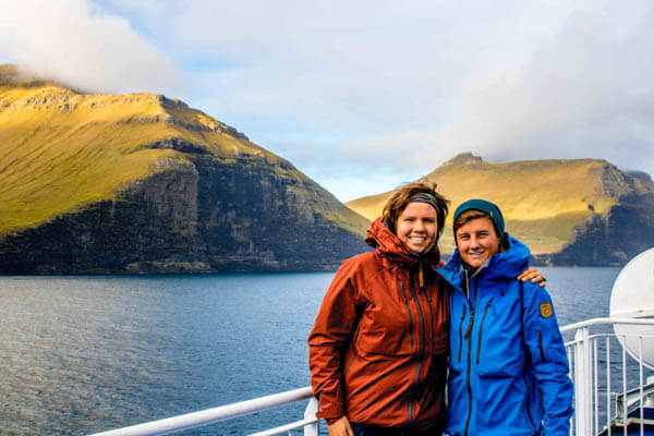 Faroe Islands with our Fjallraven keb Jackets