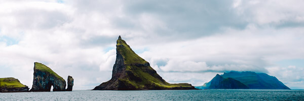Stunning view in the Faroe Islands