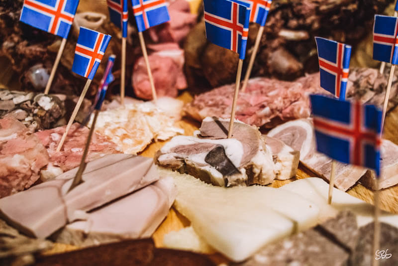 Meat Plate Icelandic Food_