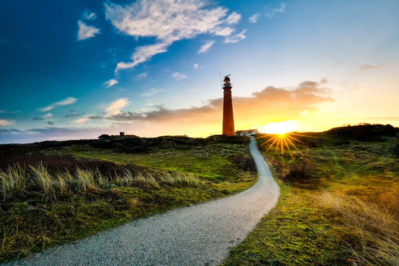 Schiermonnikoog - Red Lighthouse