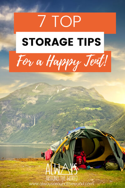 Pin Tent Storage Tips