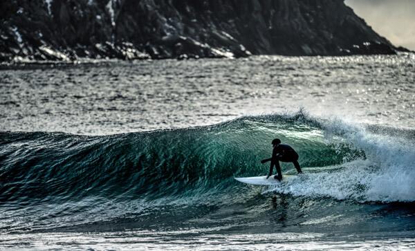 Surfing the Faroe Islands