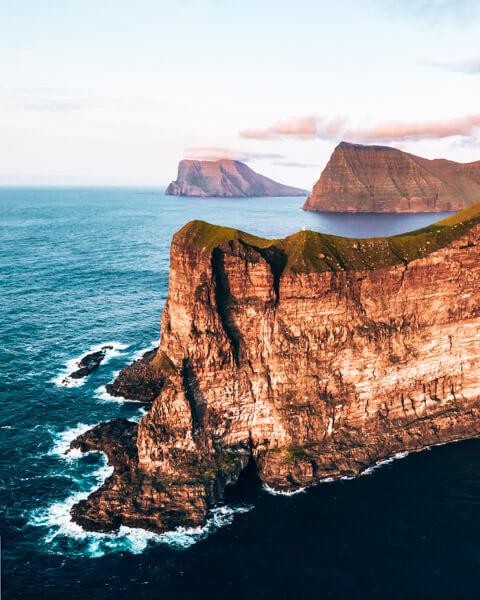 Beautiful Faroese Sunset View